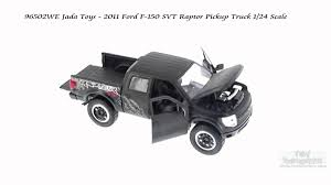 Ford Raptor Truck Black - 96502we jada toys 2011 ford f 150 svt raptor pickup truck 1 24
