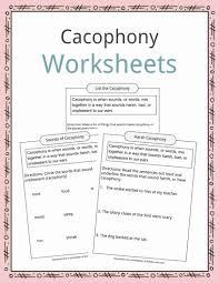Flag Day Reading Comprehension Worksheets Cacophony Examples Definition U0026 Worksheets For Kids