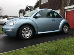 vw beetle 2005 1 6 petrol low miles light blue great