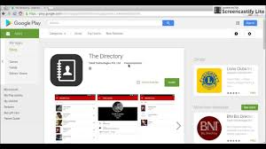 the directory app how to configure with google sheets youtube