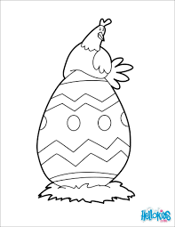 baby and big easter egg coloring pages hellokids com