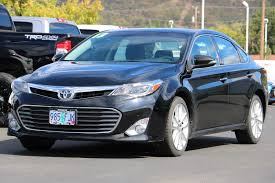 certified used toyota avalon certified pre owned 2013 toyota avalon 4dr car in roseburg