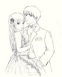 love couple cartoon sketch cute love drawings pencil art hd