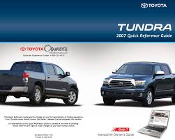 2007 toyota tundra owners manual just give me the damn manual