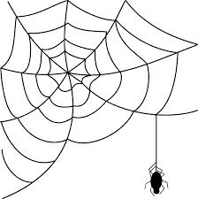 happy halloween transparent background spider web clip art viewing in corner spider web clipart