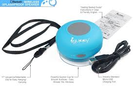 Cute Speakers by Amazon Com Guppy Water Resistant Bluetooth Shower Speaker