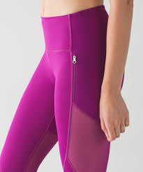 fuschia lululemon rush hour 21