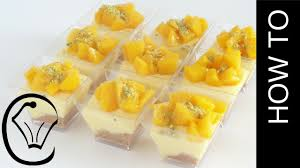 mini no bake mango cheesecake dessert cups by cupcake savvy u0027s