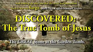 discovered the true tomb of jesus u0026 the great stone to the tomb