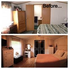 before and after single wide trailer manufactured mobile home