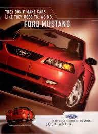 ford mustang ad 03 mustanggt ad mustang mustangs advertising and of