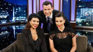 kim kardashian gets baby shower on u0026 39 jimmy kimmel live u0026 39