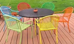 new ways to think about wrought iron for the garden or patio