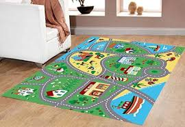 Area Rug Mat City Map Children Carpet Classrooms Play Mat Childrens Area
