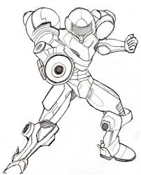 coloring pages samus coloring pages lckrpyj7i samus coloring