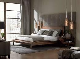chambre contemporaine design couleur chambre adulte idées déco avec nuances foncées