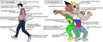 Piracy Meme - yet another garbage meme