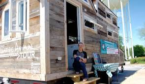 tiny house tour creative animal u201d tiny house tour lands in athens online athens
