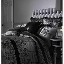 Black Bedding Kylie Bedding Astoria Black Houswife Pillowcase Kylie Bedding
