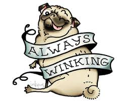 winking etsy