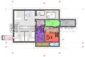 home bunker plans concrete bunkers underground shelters usa