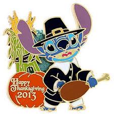 your wdw store disney happy thanksgiving pin 2013 pilgrim stitch