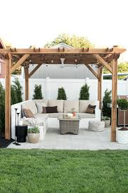 Outdoor Sitting Area Our Backyard Reveal U0026 Get The Look Room For Tuesday