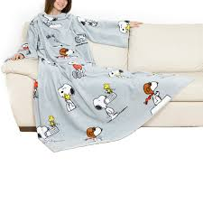 Snoopy Shower Curtain by Kanguru Snoopy Special Edition Blanket With Breast Pocket And