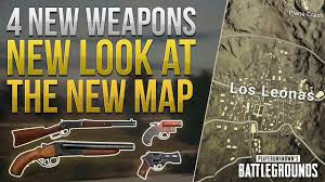 pubg new weapons 4 new weapons new look at the desert map pubg news youtube