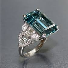 antique aquamarine engagement rings 464 best aquamarine engagement ring images on
