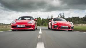 modified porsche gt3 porsche 911 gt3 vs the porsche 911 gt3