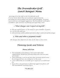 doc 585450 banquet menu template u2013 22 catering menu templates