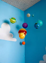 Toy Story Boys Room Project Nursery Solar System And Solar - Hanging solar system for kids room