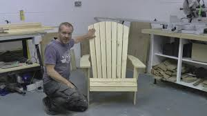 How To Build An Adirondack Chair How To Build An Adirondack Chair Part 1 Save Money Build Your Own