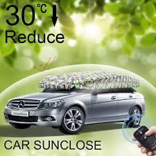 sunclose four car rear window roller shade portable car tent pop