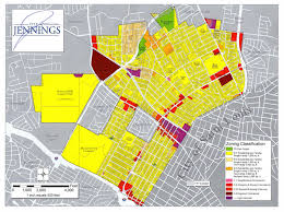 Zoning Map City Of Jennings Zoning Map