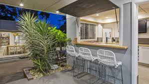 Backyard Beer Garden - bateau bay family home boasts a backyard beer garden realestate