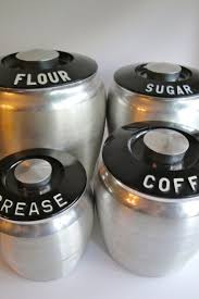 vintage canisters for kitchen 375 best flour sugar coffee tea images on pinterest vintage