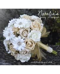 brides bouquet fancy package brides bouquet bridesmaid posy 2 flowergirl