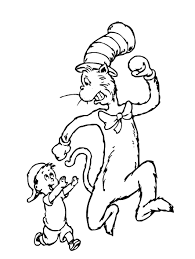 the cat in the hat coloring page coloring pages cat in the hat coloring pages how to draw dr seuss