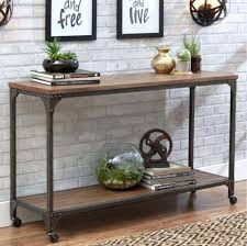 wood and metal console table wood and metal console table yuinoukin com