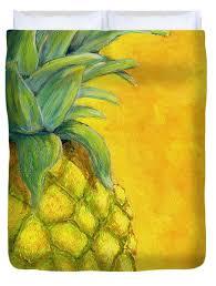 pineapple duvet covers fine art america