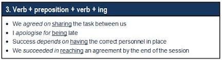 verb pattern prevent fixed verb patterns gerund infinitive or both the lacs training