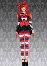 Gothic Womens Halloween Costumes Leg Avenue Gothic Rag Doll Costume
