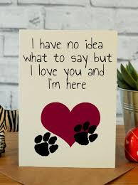 bereavement gift ideas pet loss i m here bereavement gift pet loss and bereavement