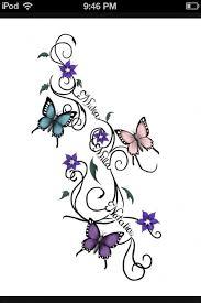 family ideas butterflies name