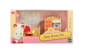 Sylvanian Families Baby Room Set Toys  Character George - Family room set