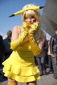 Funny Girls Halloween Costumes Super Cute Humanoid Pikachu Again Costplay Costumes Pinterest