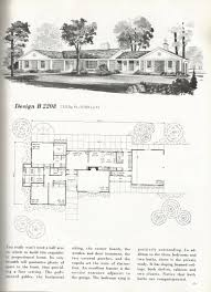 vintage house plans mid century homes homes over 2000 sq feet