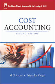 cost accounting by m n arora